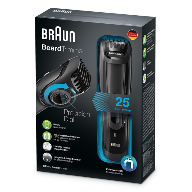 nuova linea Styler by Braun | Beard Trimmer BT5070 €74,99|