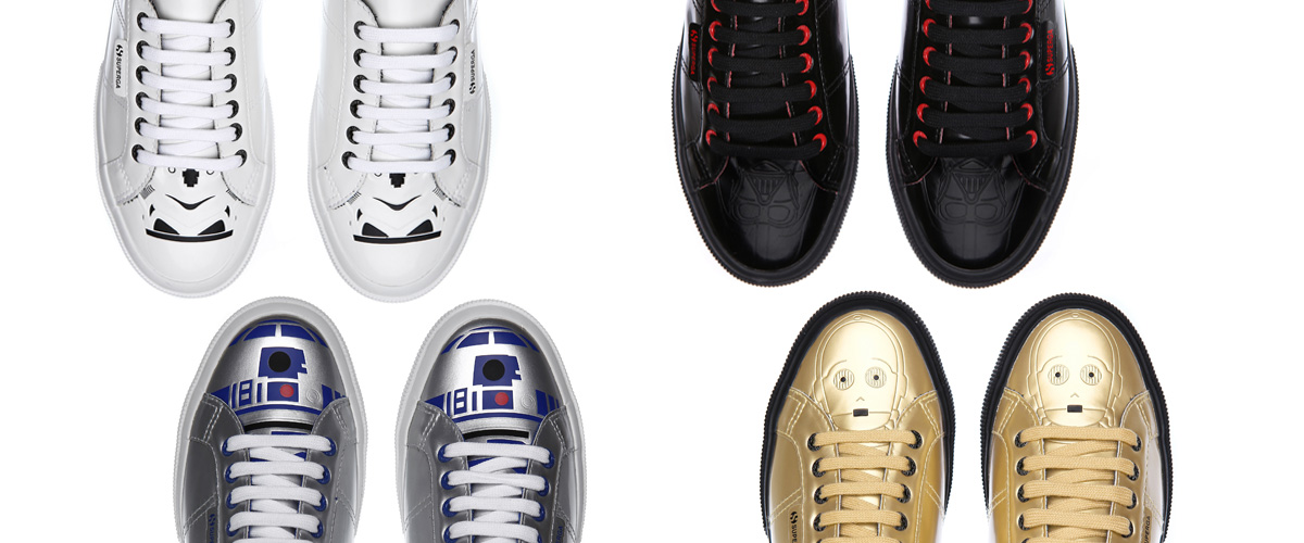 Superga Star Wars collection