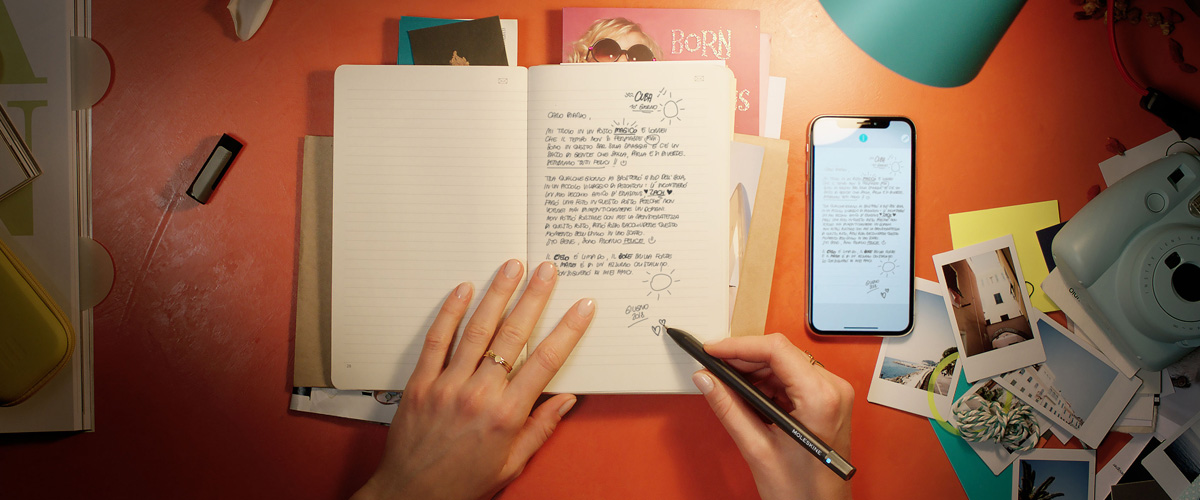 Moleskine unisce i dispositivi cartacei e digital