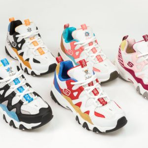 Il manga One Piece sulle chunky sneaker di Skechers